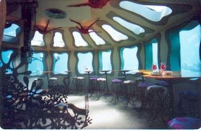Bar del Red Sea Star, Israel