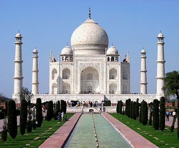 El Taj Mahal, una muestra de amor eterno