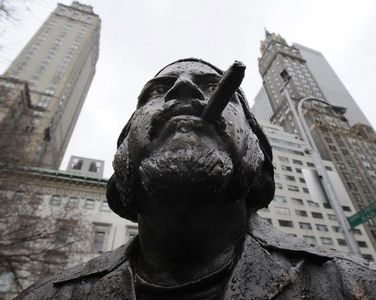 La estatua del Che Guevara fue removida de Central Park