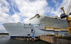 El Ocean of the Seas, listo para zarpar