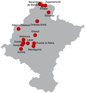 Itinerarios tursticos en Navarra