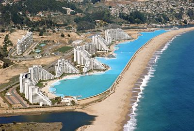 La piscina mas grande del mundo d taringa - The biggest swimming pool in chile ...