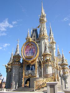 La suite de la Cenicienta en su castillo de Magic Kingdom