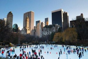 Donde patinar sobre hielo en Nueva York