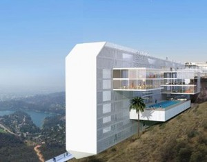 Hoteles del futuro: The Hollywood Sign