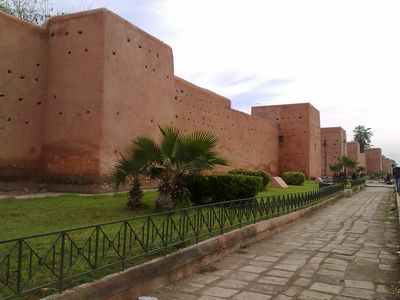 Las Murallas de Marrakech