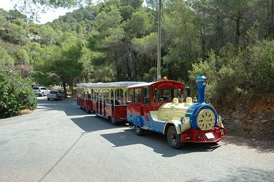 Tren turstico de Ibiza