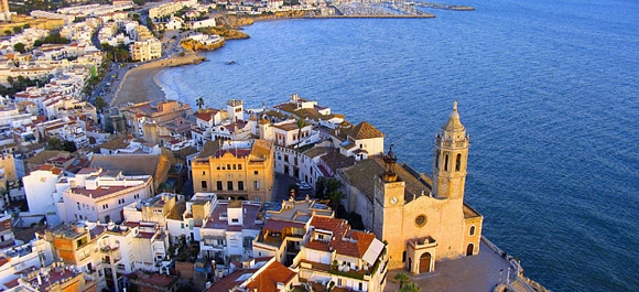 Sitges, refugio de artistas y mar