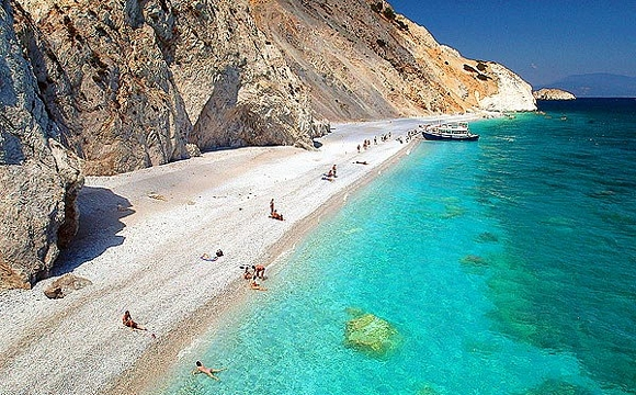 Los destinos de playa ms populares de Grecia