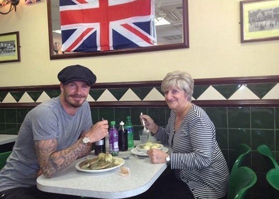 David Beckham propone sus diez sitios favoritos de Londres