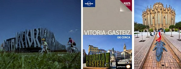 Vitoria como Capital Verde Europea tiene su guía Lonely Planet
