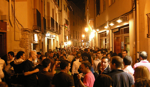 La calle Laurel en Logroo, un rincn de tapas