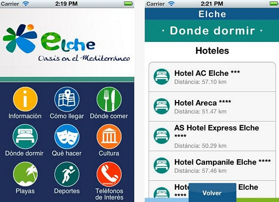 Elche estrena aplicacin mvil de turismo