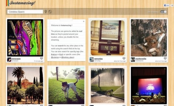 Instamazing, las mejores fotos de Instagram cercanas a tu localizacin