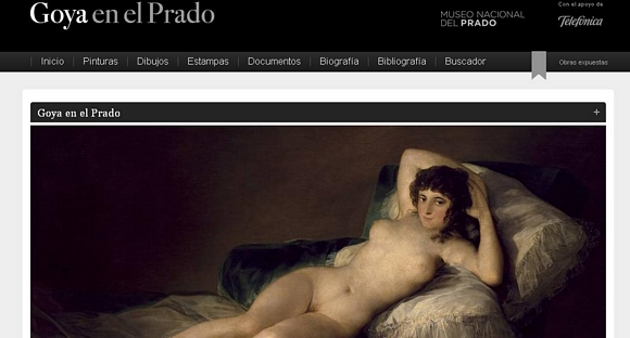 El Museo del Prado lanza sitio sobre sus obras de Goya
