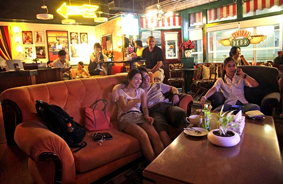 El Central Perk de Friends vive en Beijing