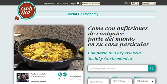 Cookflat, experiencia de gastronoma social