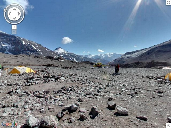Street View llega a las cumbres ms altas del mundo