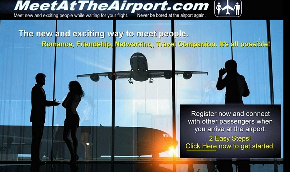 Meetattheairport.com, red social para conocer a otros viajeros en el aeropuerto