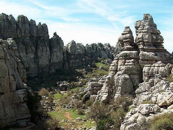 El Torcal de Antequera en Mlaga