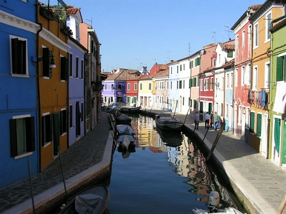 Las islas menores de Venecia