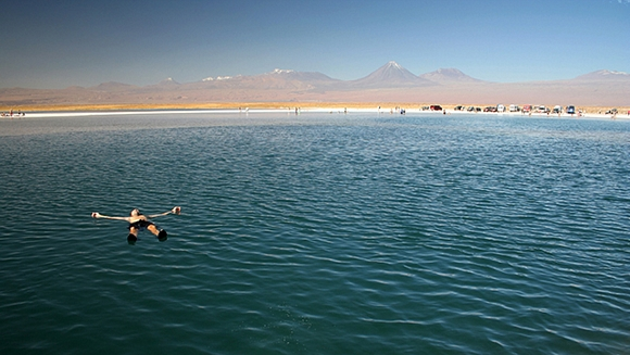 La Laguna Cejar en San Pedro de Atacama