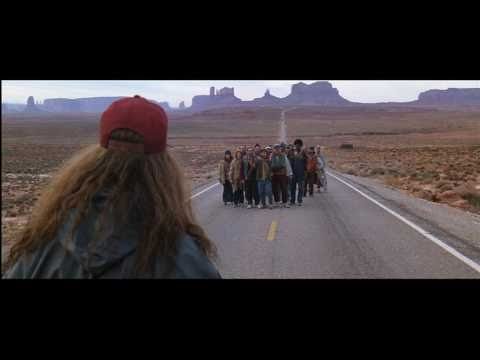 Monument Valley, la carretera de Forrest Gump