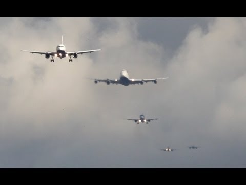 Time Lapse: una hora en el aeropuerto de Heathrow