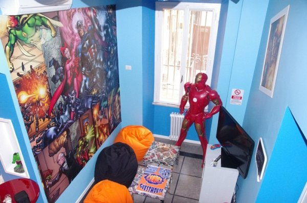 Hostal Comics GuestHouse: un sitio extraordinario 1