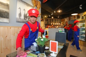 Super Mario Bros: restaurante temático en China
